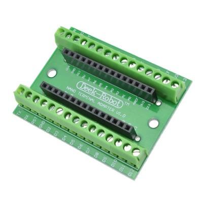 Arduino Nano 3.0 Terminal Adaptör