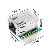 W5500 Mini Ethernet Modül- USR-ES1 W5500