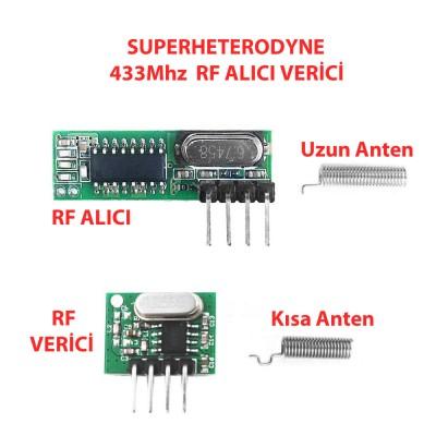 433Mhz RF Alıcı Verici