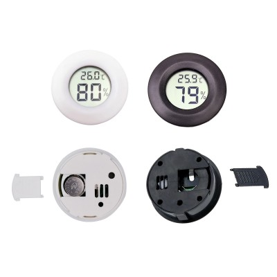 Round Hygrometer Temperature Humidity Meter