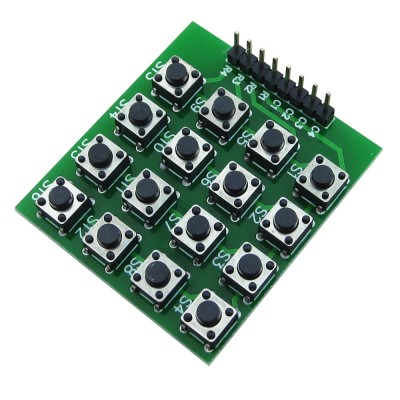 4x4 16 Buton Keyboard