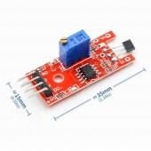 Manyetik Hall Effect Sensör Modülü KY-024