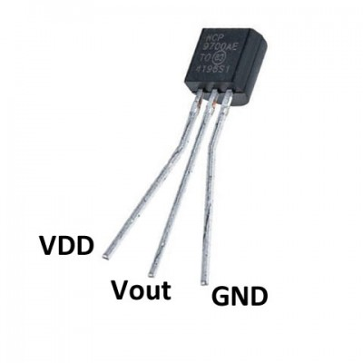 MCP9700 Temperature Sensors