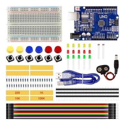 Arduino Uno R3 Başlangıç Seti 77 Parça Kutulu