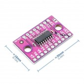 74HC4051 8 Kanal Analog / Dijital Çoklayıcı ve Seçici Modül