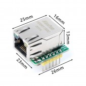 W5500 Mini Ethernet Modül