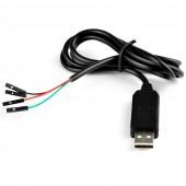 USB to TTL UART PL2303HX Cable Module