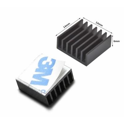 14x14x6mm Aluminyum Sogutucu