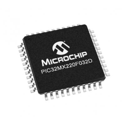 PIC32MX220F032D-50I/PT