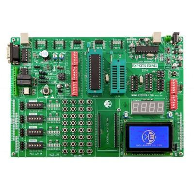 EXM1 + 2X16LCD +GLCD +18F4520