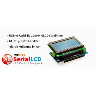 Exserial WG12864B GLCD
