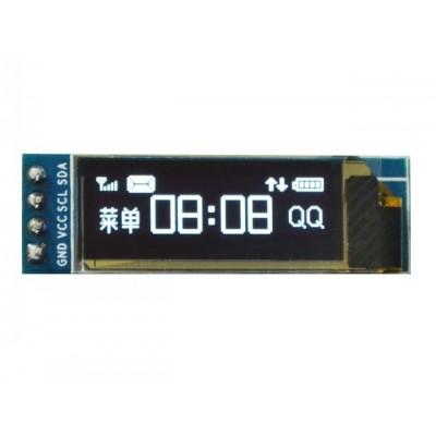 "128x32 OLED LCD 0.91"" BEYAZ"