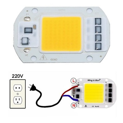 220V 50W Power Led Warm White