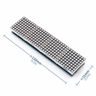 MAX7219 4lü Dot Matrix Modül