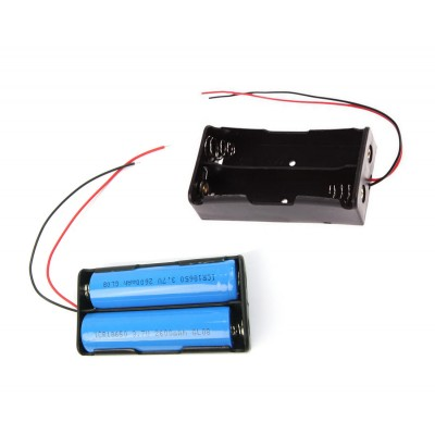 18650 Power Battery Storage Case Box Holder 2X