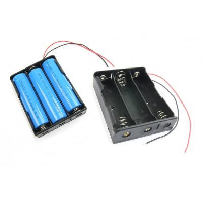 18650 Power Battery Storage Case Box Holder 3X