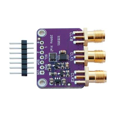 Si5351 8khz - 160Mhz Clock Generator