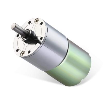 12V 37 mm 30 Rpm Redüktörlü DC Motor