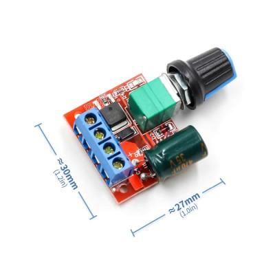 5A 35V Mini DC Motor Hız Kontrol Devresi
