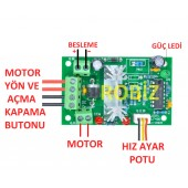 5A 30V DC Motor Speed controller