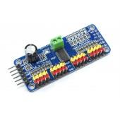 PCA9685 I2C 16 Kanal 12 Bit PWM Kontrolör Kartı