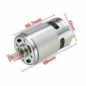 RS775 DC Motor 24V 8500Rpm