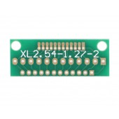 12 Pin 1.27mm - 2mm to 2.54mm Çevirici PCB