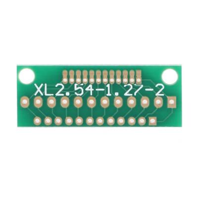 12 Pin 1.27mm - 2mm to 2.54mm Çevirici PCB