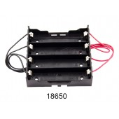18650 Power Battery Storage Case Box Holder 4X