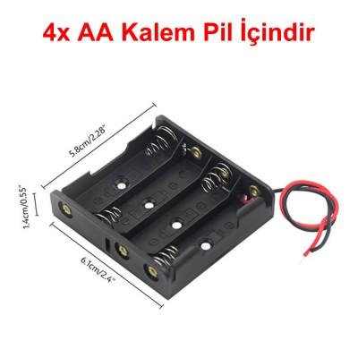 AA Power Battery Storage Case Box Holder