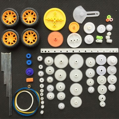 78 Pcs Plastic Gear Kit