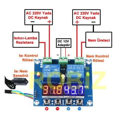 XH-M452 Dijital Termostat