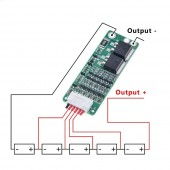 BMS 5S 15A Protection Board