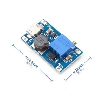 2A Boost Modül Micro Usb