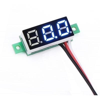 Voltmetre 0.28' 0-100V Mavi