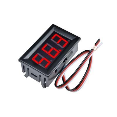 Voltmetre 0.56' 0-100V Kırmızı