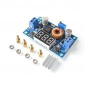 XL4015 Voltmetreli 5A Voltaj Düşürücü
