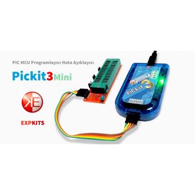 PICKIT3 Expkits + Zif Adaptör