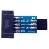 10 Pin to 6 Pin Adapter Board