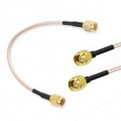 30CM RG316 SMA Erkek – Erkek RF Kablo