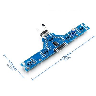 5+1 Kanal Çizgi Takip Sensör Modülü