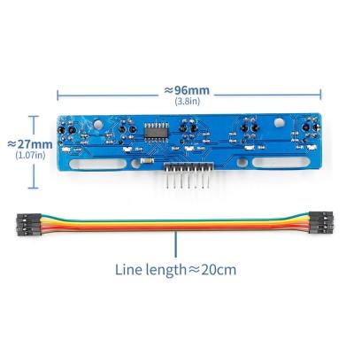 5 Kanal Çizgi Takip Sensör Modülü