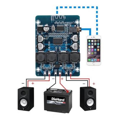 TPA3118 Bluetooth 2x30W Amfi Modülü