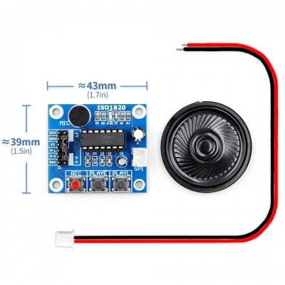 ISD1820 Ses Kayıt Modülü