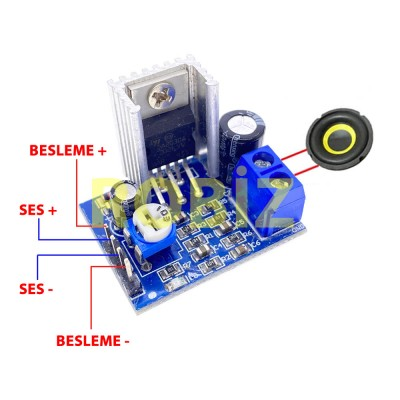 TDA2030A Amfi Modül