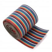 40 Pin Rainbow Ribbon IDC Kablo 1 Metre