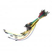 65pcs Solderless Breadboard Cables