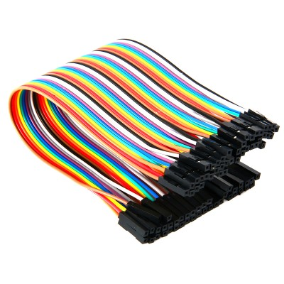 20cm 40 Pin Dişi Dişi Dupont Kablo