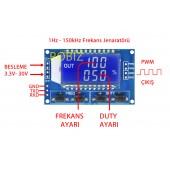 1Hz - 150kHz Sinyal Jeneratörü