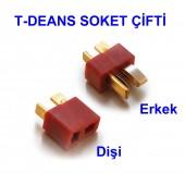 T-Deans Konnektör Çift